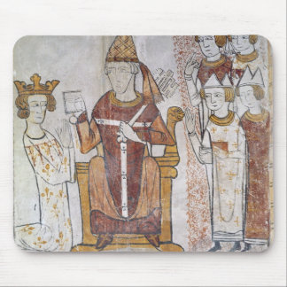 Pope Clement IV Investing Charles of Anjou Mouse Pad