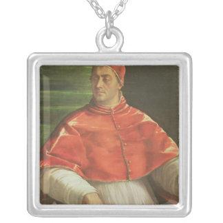 Pope Clement VII  c.1526 Square Pendant Necklace