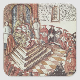 Pope Clement VII Square Stickers