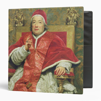 Pope Clement XIII (1693-1769) (oil on canvas) Binder