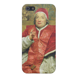 Pope Clement XIII (1693-1769) (oil on canvas) Cover For iPhone SE/5/5s