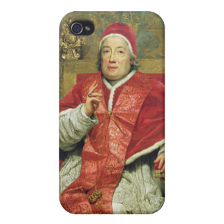 Pope Clement XIII (1693-1769) (oil on canvas) iPhone 4/4S Case