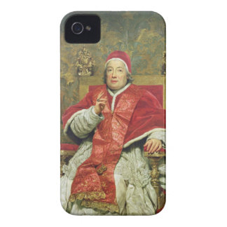 Pope Clement XIII (1693-1769) (oil on canvas) iPhone 4 Case-Mate Case