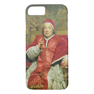 Pope Clement XIII (1693-1769) (oil on canvas) iPhone 8/7 Case