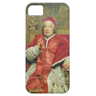 Pope Clement XIII (1693-1769) (oil on canvas) iPhone SE/5/5s Case