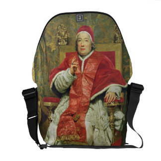 Pope Clement XIII (1693-1769) (oil on canvas) Courier Bag