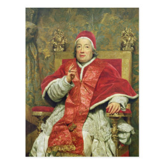 Pope Clement XIII (1693-1769) (oil on canvas) Postcard