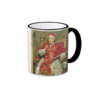 Pope Clement XIII (1693-1769) (oil on canvas) Ringer Coffee Mug