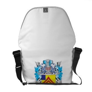 Pope Coat of Arms - Family Crest Courier Bags