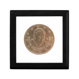 Pope coin gift box