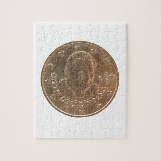 Pope coin jigsaw puzzle