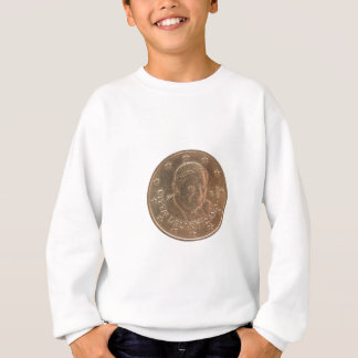 Pope coin sweatshirt