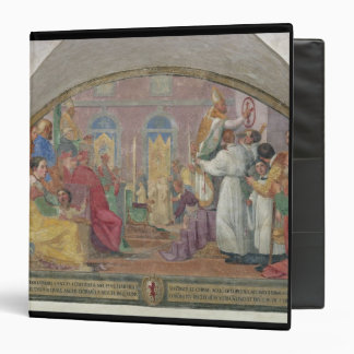 Pope Eugene IV Consecrating the convent of San Mar Binder