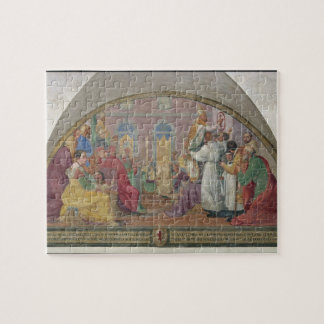 Pope Eugene IV Consecrating the convent of San Mar Jigsaw Puzzle