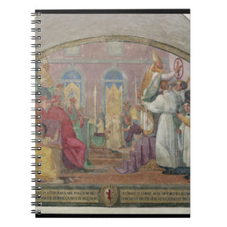 Pope Eugene IV Consecrating the convent of San Mar Spiral Note Books