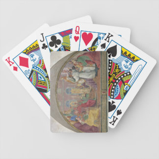 Pope Eugene IV Consecrating the convent of San Mar Bicycle Card Decks
