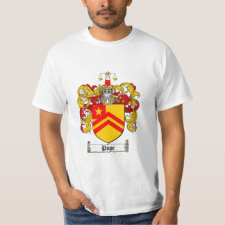 Pope Family Crest - Pope Coat of Arms T-Shirt