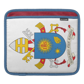 Pope Francis Coat of Arms Sleeve For iPads
