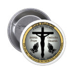 Pope Francis Pinback Button