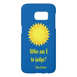 Pope Francis Quotation Samsung Galaxy S7 Case