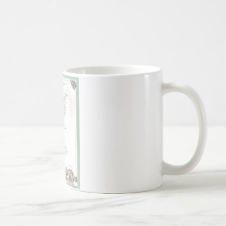 pope francis=st. francis simple prayer=angel coffee mug