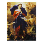 Pope Francis's Prayer to Our Lady Untier of Knots Postcard