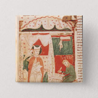 Pope Gregory I the Great Pinback Button