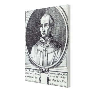 Pope Hadrian II Canvas Print