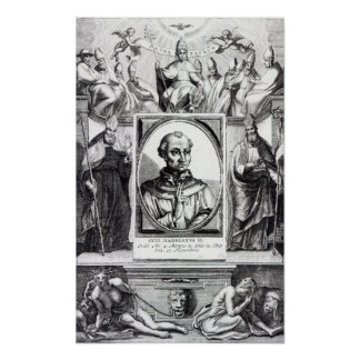 Pope Hadrian II Poster
