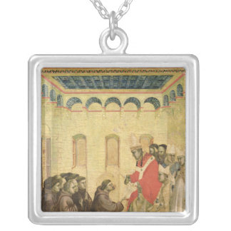 Pope Innocent III Silver Plated Necklace