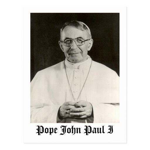 Pope John Paul I Postcards