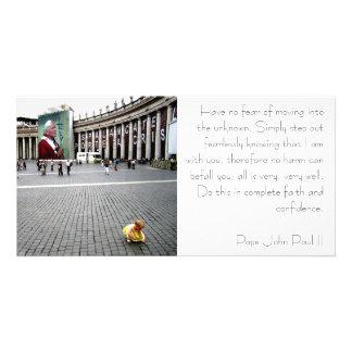 Pope John Paul II and Baby Card