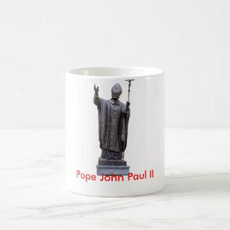 Pope John Paul II Classic White Coffee Mug