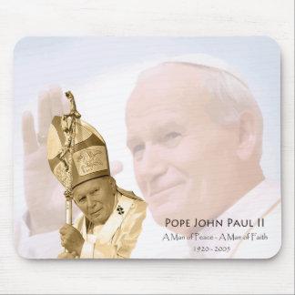 Pope John Paul II Collage Mousepad