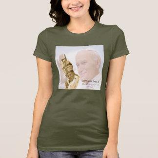 Pope John Paul II Collage T-Shirt