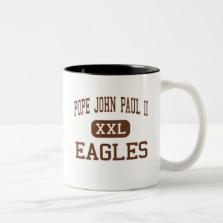 Pope John Paul II - Eagles - High - Boca Raton Two-Tone Coffee Mug