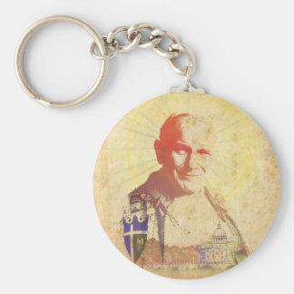 Pope John Paul II Papal Crest Key Chains