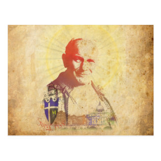 Pope John Paul II Papal Crest Postcard