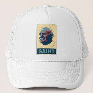 Pope John Paul II Pop Art SAINT Tshirt Trucker Hat