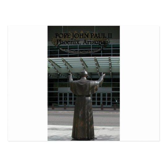 POPE JOHN PAUL II POSTCARD