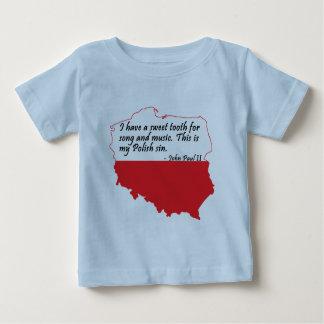 Pope John Paul II Quote Baby T-Shirt