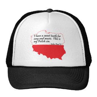 Pope John Paul II Quote Trucker Hat