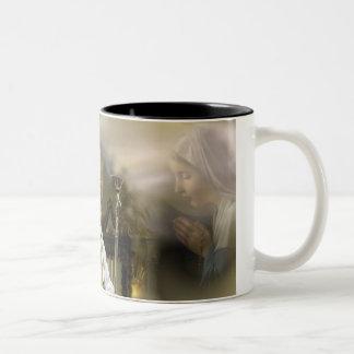 Pope John Paul II Two-Tone Coffee Mug