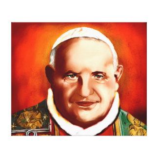 Pope John XXIII Stretched Canvas Print