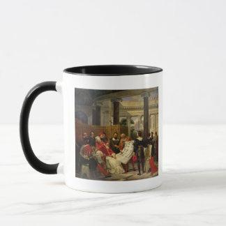 Pope Julius II ordering Bramante Mug