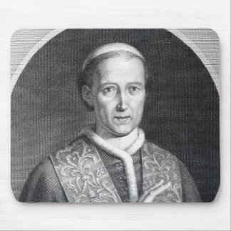 Pope Leo XII, engraved by Raffaele Persichini Mouse Pad