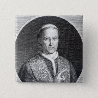 Pope Leo XII, engraved by Raffaele Persichini Pinback Button
