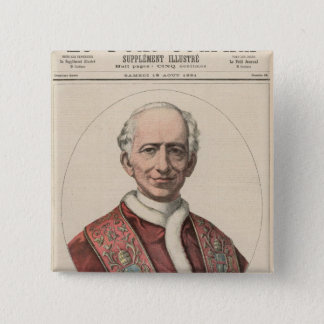 Pope Leo XIII Button