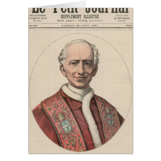 Pope Leo XIII Card