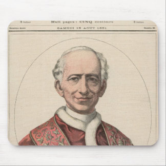 Pope Leo XIII Mouse Pad